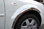 Хром поворотников 2 шт Chevrolet Lacetti + hatchback сталь (CHLS12)