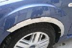 Накладки колесных арок Ford Focus 2005- хром (FFOC23)