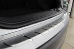Накладка с загибом на задний бампер  Audi A4 Combi 2008- (Alu-Frost, 25-3465)