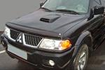 Дефлектор капота Mitsubishi Pajero Sport 2000- (EGR, 26071)