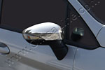 Накладки зеркал для Ford Fiesta 2010- (Omsa Prime, 2614111)