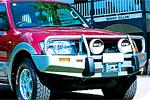 Передний бампер Mitsubishi Pajero III (V60) 00-03 5D с дугой WINCH BUMPER NM (ARB, 3034020)