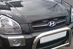 Дефлектор капота Hyundai Tucson 2004- (EGR, 314030DSL)