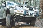 3414220 - Передняя защита Deluxe COMBO BAR 02 ON SRS&NON W/FLARES под лебёдку (ARB)