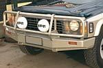 Передний бампер Nissan Patrol GQ с дугой Deluxe ALL COIL MODELS под лебёдку (ARB, 3416110)
