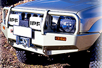 Передний бампер Suzuki Jimny Deluxe INC SRS MODELS под лебёдку (ARB, 3424030)