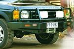 Передний бампер Land Rover Discovery II с дугой Deluxe TO99 W/AIRBAG под лебёдку (ARB, 3432050)