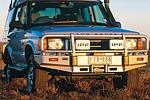 Передний бампер Land Rover Discovery II с дугой Deluxe SERIES 2 99ON W/AIRBAG под лебёдку (ARB, 3432060)