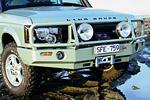 Передний бампер Land Rover Discovery II с дугой Deluxe SERIES 2 POST 02 8/9 под лебёдку (ARB, 3432120)