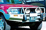 Передний бампер Mitsubishi Pajero III (V60) 03- 5D с дугой COMBO BAR NP под лебёдку (ARB, 3434060)