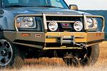 Передний бампер Nissan X-Terra с дугой Deluxe winch bull bar (ARB, 3438110)