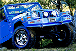 Передний бампер Chrysler Wrangler 3D Deluxe 4/5 под лебёдку (ARB, 3450070)