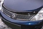 Дефлектор капота Nissan Tiida 2007- (EGR, BRE3465DS)