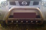 Передняя защита с защитой картера и пластиной с надписью для Nissan X-Trail 2007- (Can-Otomotive, NIXT.35.2148)