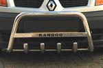 Передняя защита с защитой картера и надписью для Renault Kangoo 2008- (Can-Otomotive, REKA.35.4072)