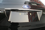 Хром накладка над номером для Subaru Forester 2013+ (Kindle, SF-D35)