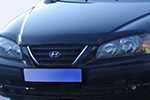 Дефлектор капота Hyundai Elantra 2003- (EGR, SG3526DS)