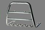 Передняя защита высокая с трубой и защитой картера для SsangYong Korando 2001-2009 (Can-Otomotive, SYKO.35.3156)