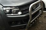 Передняя защита высокая с трубой и защитой картера для Volkswagen Amarok 2011- (Can-Otomotive, VWAM.37.1018)