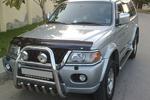 Передняя защита высокая с трубой и защитой картера для Mitsubishi Pajero Sport 2005- (Can-Otomotive, MIPS.37.2030)