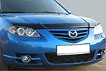 Дефлектор капота Mazda 3 sd 2003- (EGR, SG3745DS)