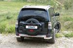 Защита задняя Mitsubishi Pajero Wagon 2007- d76 (Schiessler, 3815 VA)
