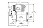 Лебедка электрическая WARN M8274-50 (WARN, 38631)