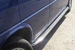 Боковые пороги с листом из нержавеющей стали для Volkswagen T4 (Can-Otomotiv, VWT40210)