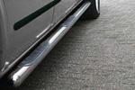 Пороги B2 труба d70 с пластиковыми приступами Fiat Doblo 2006- (Can-Otomotive, FIDO.43.0618)