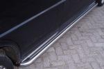 Пороги C2 хром труба с листом из нержавеющей стали для Volkswagen T4 1996- (Can-Otomotive,  VWT4.45.3754)
