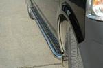 Пороги С2 труба с листом из нержавеющей стали для Volkswagen T5 2004- (Can-Otomotive, VWT5.45.3804)