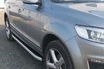 Боковые пороги Alyans для Audi Q7 2006- (Can-Otomotive, AUQ7.ALYANS.47.0025)