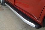 Боковые пороги Alyans для Toyota RAV4 2006- (Can-Otomotive, TOR4.ALYANS.47.0460)