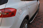 Боковые пороги Alyans для Ford Kuga 2008- (Can-Otomotive, FOKU.ALYANS.47.0970)
