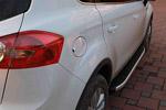 Боковые пороги Alyans для Ford Kuga 2008- (Can-Otomotive, FOKU.ALYANS.47.0970)