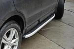 Боковые пороги Alyans для Hyundai Santa Fe 2013- (Can-Otomotive, HYSA.ALYANS.47.1198)