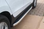 Боковые пороги Alyans для Hyundai IX35 2010- (Can-Otomotive, HYIX.ALYANS.47.1238)