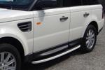 Боковые пороги Alyans для Range Rover Sport 2005- (Can-Otomotive, LRRS.ALYANS.47.1483)