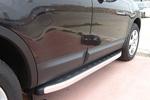 Боковые пороги Alyans для Nissan Qashqai 2007- (Can-Otomotive, NIQA.ALYANS.47.2077)