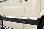 Накладки на двери (молдинги) Mercedes Sprinter W906 2006- (средняя база) (Omsa-Prime, 4724131)