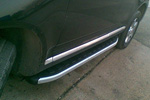 Боковые пороги Alyans для Volkswagen Touareg 2007- (Can-Otomotive, VWTU.ALYANS.47.3881)