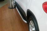 Боковые пороги Alyans для Volkswagen Tiguan 2007- (Can-Otomotive, VWTI.ALYANS.47.3923)