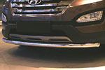 Защита переднего бампера труба d60 для Hyundai Santa Fe 2013- (Союз-96, HYSF.48.1615)