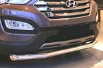Защита переднего бампера труба d76 для Hyundai Santa Fe 2013- (Союз-96, HYSF.48.1616)