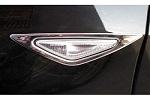Хромированная окантовка повторителей для BMW X5 (E70) 2010-2014 (Kindle, X5-C14)