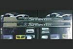 Накладки на пороги Mercedes Sprinter W906 2006- (Omsa-Prime, 563794503)