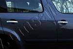 Накладки на дверные ручки для Skoda Yeti 2010- (Omsa Prime, 6606041)