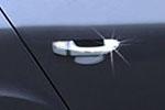 Накладки на дверные ручки для Skoda SuperB 2008- (Omsa Prime, 6607041)