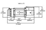 Лебедка электрическая WARN 16.5TI Thermometric (WARN, 68801)