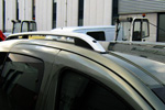 Рейлинги алюминиевые Crown для Citroen Berlingo 2002- (Can-Otomotive, CIBE.73.0337)
